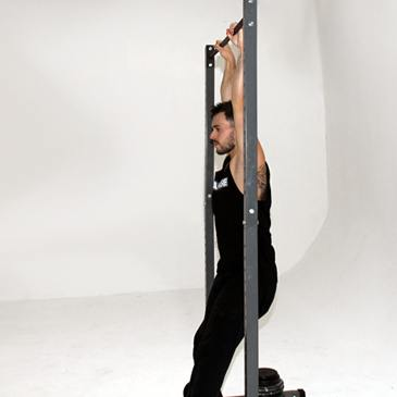 How to do a hanging leg raises on a bar.